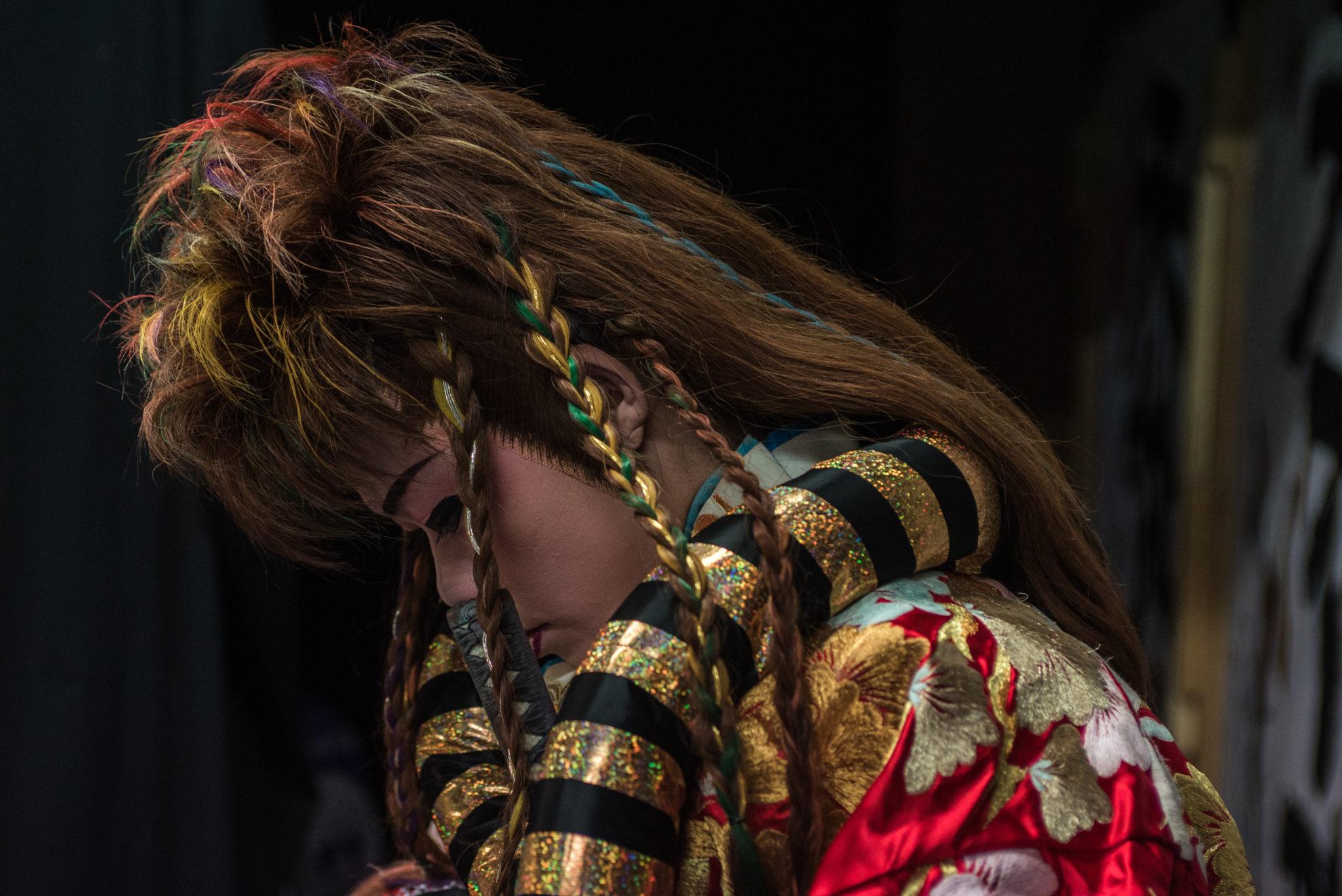 """Aufführung Neo-Kabuki-Theater """"Manjushaka"""""""