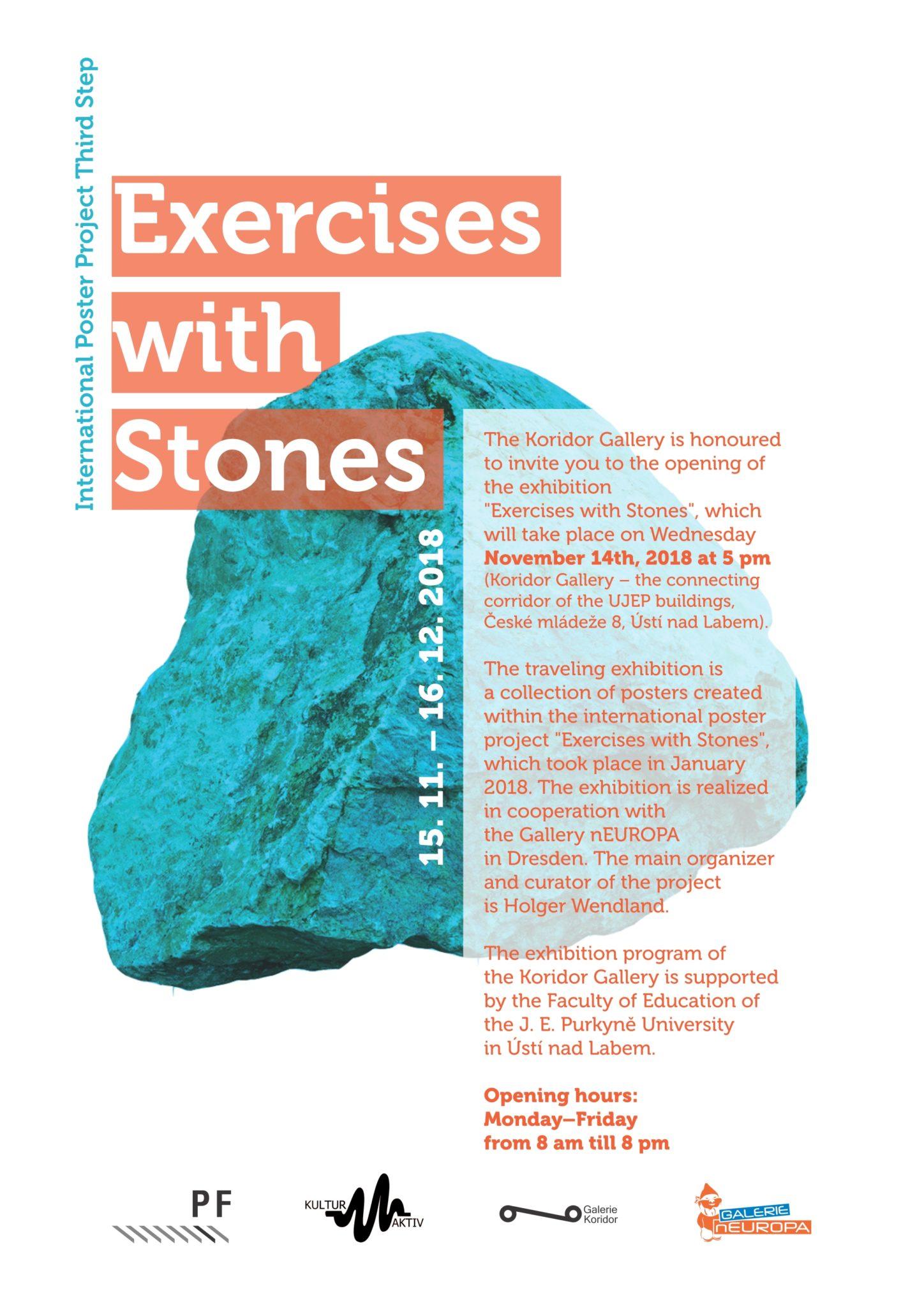 Exercises with Stones - Koridor Gallery