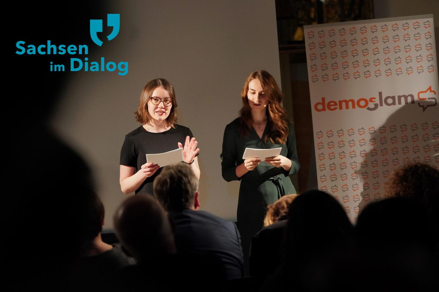 demoSlam: Der Slam für Junge Streitkultur in Sachsen