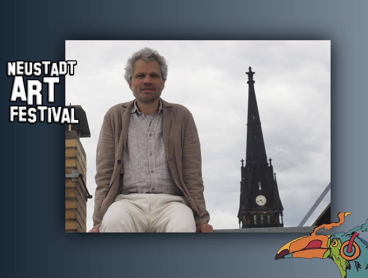 Kai Schmerschneider beim Neustadt Art Festival 2020