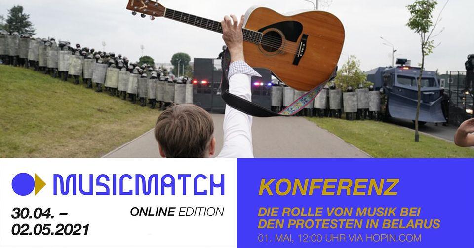 MusicMatch - Interview: Rolle von Musik bei den Protesten in Belarus