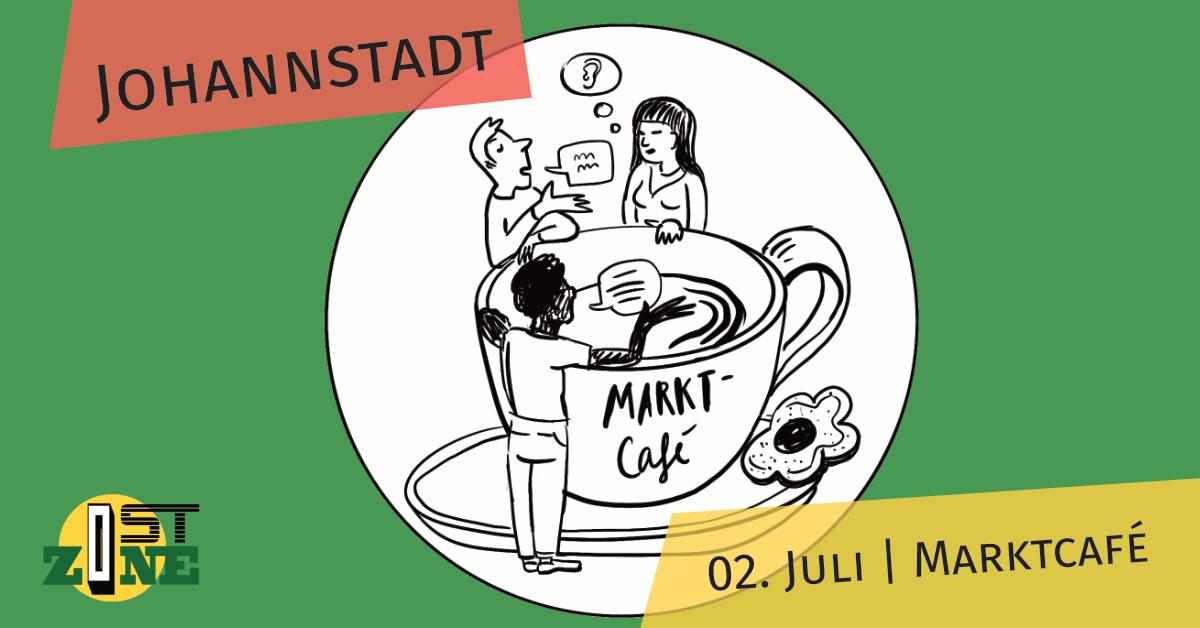 Market café in Johannstadt