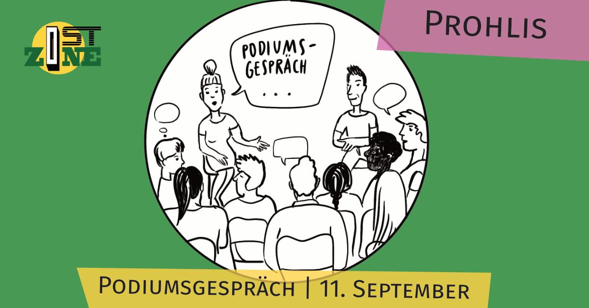 Podiumsgespräch in Prohlis