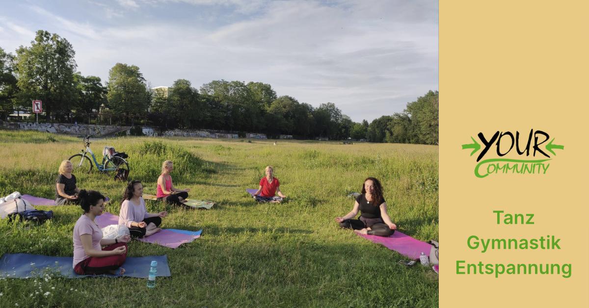 Tanz, Gymnastik und Entspannung - immer dienstags
