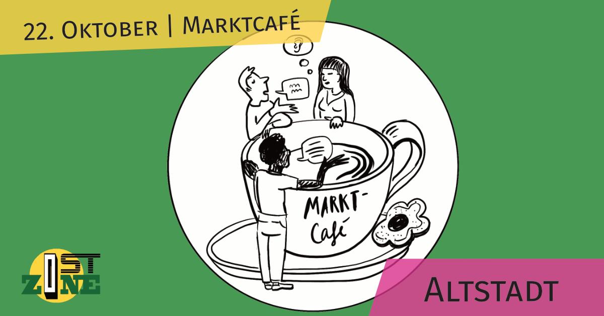 Marktcafé in der Altstadt