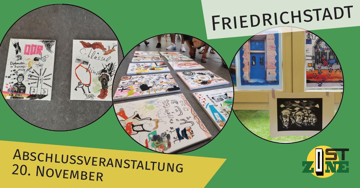Abschlussveranstaltung in der Friedrichstadt