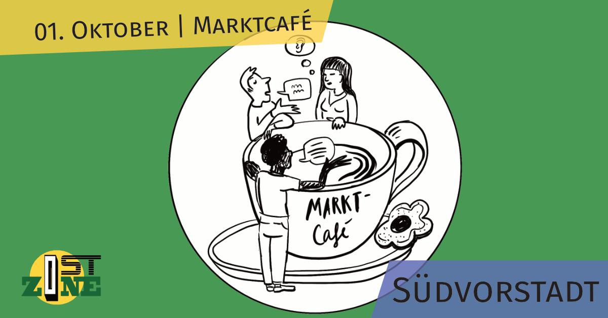 Market café in Südvorstadt