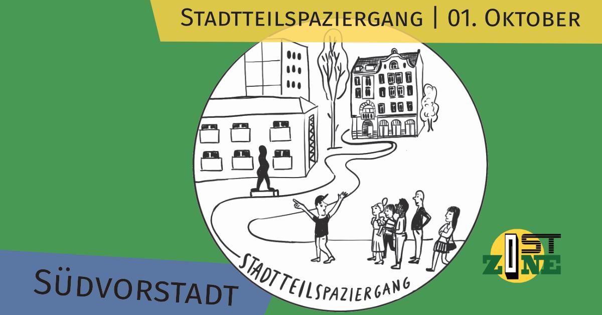 District walk in Südvorstadt